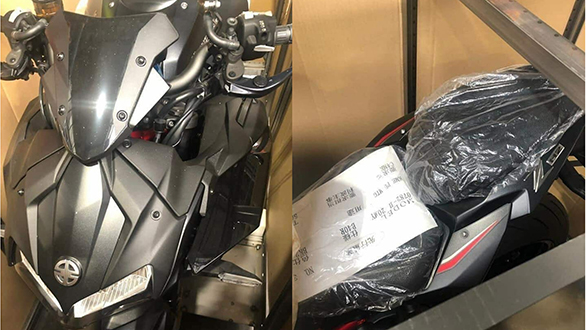 Kawasaki ZH2 supercharged spotted ahead of its October 23 global debut