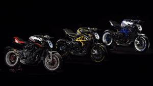 MV Agusta Dragster 800 RR, America and Pirelli series of motorcycles launched in India
