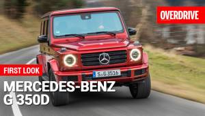 Mercedes G 350d - First Look
