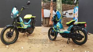 TVS XL100 Goa Edition moped showcased at the first edition of MotoSoul