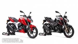 BSVI compliant TVS Apache RTR 200 4V and Apache RTR 160 4V launched in India