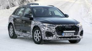 2020 Audi Q5 SUV mid-cycle facelift spotted testing