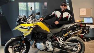 Bollywood Actor Arshad Warsi adds an adventure motorcycle to his fleet - buys the BMW F 750 GS