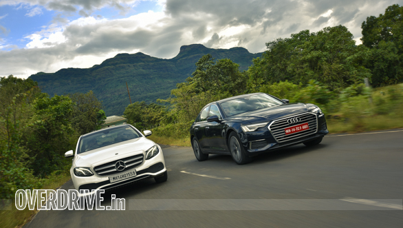 Comparison test: 2020 Audi A6 45 TFSI vs 2019 Mercedes-Benz E 200 LWB