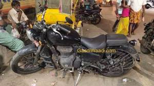 BSVI Royal Enfield Thunderbird X spotted - reveals more details