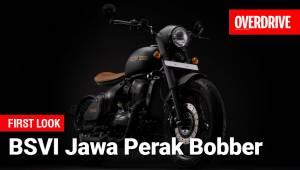BSVI Jawa Perak Bobber