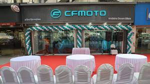CFMoto's first dealership inaugurated in Mumbai