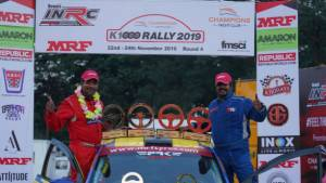 INRC 2019: Chetan Shivram wins incident-packed Round 4 in Bengaluru