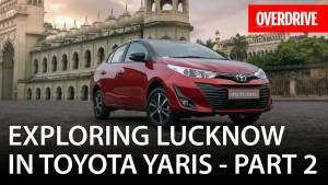 Exploring Lucknow in Toyota Yaris - Part 2