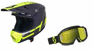Product review: SCOTT 350 Evo Plus helmet and Moto Hustle MX goggle