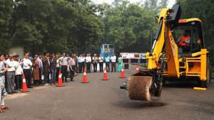 JCB India, CSIR-CRRI jointly develop pothole repair machine to improve road infrastructure and safety