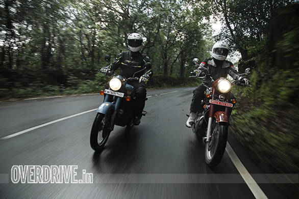 Comparison test: 2019 Jawa vs 2019 Royal Enfield Classic 350