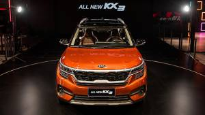 Kia Seltos compact SUV showcased at Guangzhou Motor Show in China