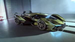 Lamborghini Lambo V12 Gran Turismo, virtual racecar revealed in Monaco