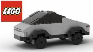 Lego Cybertruck anyone?