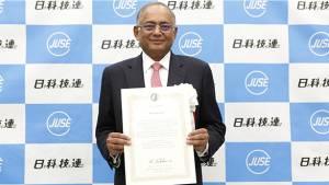 Venu Srinivasan receives Deming Distinguished Service award