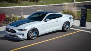 Pure-electric Mustang Lithium promises over 900PS... and manual shifts!