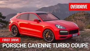 Porsche Cayenne turbo coupe | First Drive