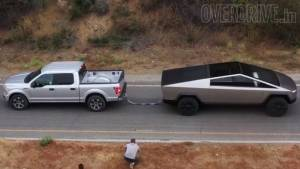 Tesla Cybertruck's tug-of-war with Ford F-150 sparks Twitter war (video)