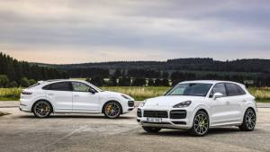 Image Gallery: The Cayenne Turbo S E-Hybrid Coupe