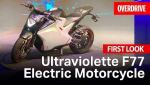 Ultraviolette F77 Electrical Motorcycle | First Look