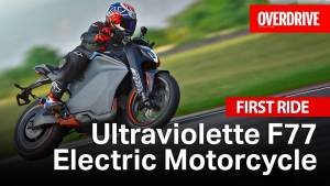 Ultraviolette F77 - First Ride