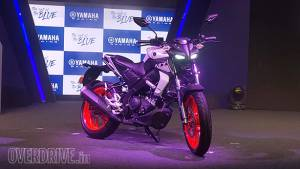 BSVI Yamaha MT-15 showcased - likely to be launched January 2020