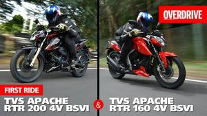 BSVI TVS Apache RTR 160 4V and RTR 200 4V | First Ride Review