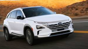 Hyundai Nexo fuel-cell electric vehicle being considered for India