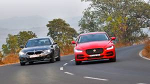 Comparison test: Jaguar XE vs BMW 3 Series