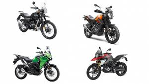 Spec Comparo: KTM 390 Adventure vs Royal Enfield Himalayan vs BMW G 310 GS vs Kawasaki Versys-X 300