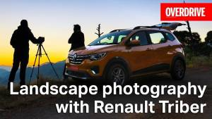 Landscape photography with Renault Triber