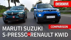 Maruti Suzuki S-Presso vs Renault Kwid | Comparo