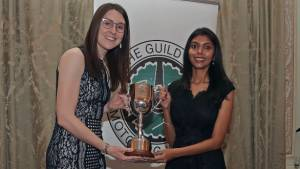 Our motorsport editor Vaishali Dinakaran wins second consecutive Peugeot Motorsport Cup awarded by the Guild of Motoring Writers