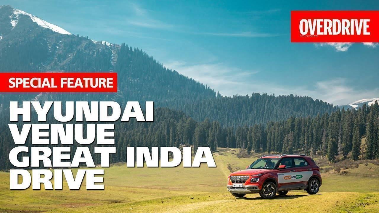 Special feature - Hyundai Venue Great India Drive