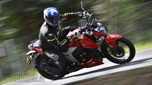 BSVI TVS Apache RTR 160 4V first ride review
