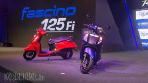 BSVI Yamaha Fascino 125 Fi launched in India for Rs 66,430