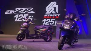 Yamaha Ray ZR 125 Fi and Street Rally 125 Fi showcased - launch expected soon