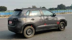 Maruti Suzuki Vitara Brezza facelift spotted testing ahead of Auto Expo 2020 debut