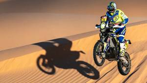 Dakar 2020: Sherco TVS' Adrien Metge retains 11th overall after Stage 7
