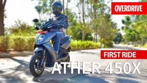 Ather 450X electric scooter - First Ride Review