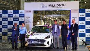 Hyundai Motor India crosses the three million export car production milestone