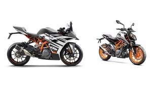 BSVI KTM 390 Duke and RC 390 launched in India for Rs 2.53 lakh and Rs 2.48 lakh respectively