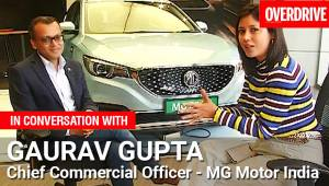 Interview: MG Motor India's Gaurav Gupta on MG ZS EV bookings, waiting period and MG Hector production