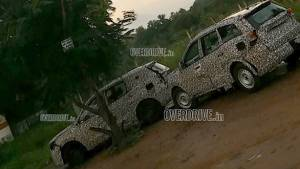 Auto Expo 2020: Next-Gen Mahindra XUV500 spotted in production-ready form