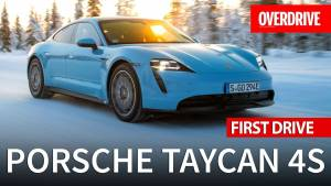 India Exclusive - Porsche Taycan 4S - First Drive Review