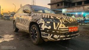 EXCLUSIVE: India-spec Skoda Karoq SUV Spotted on test - Launch soon