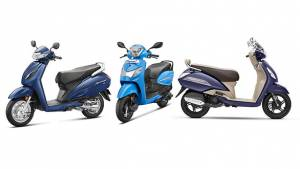 Spec Comparo: Hero Pleasure+ 110 vs Honda Activa 6G vs TVS Jupiter