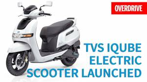 TVS iQube Electric Scooter Launched - Range, Specifications and features