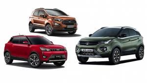 Spec Comparo: Tata Nexon vs Ford Ecosport vs Mahindra XUV300